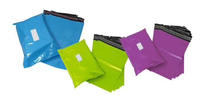 Coloured Mailing Bags